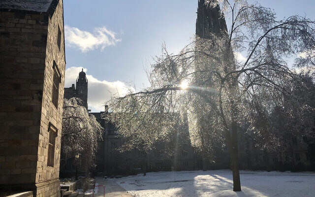 Branford College, one of Yale's 14 residential colleges. Courtesy of Gabriel Klapholz.