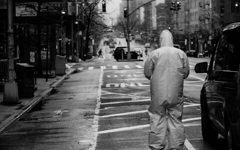 """Harvey Potter, an investment banker and resident of Manhattan's Upper West Side, has taken a series of haunting photographs of New York during the Covid-19 crisis. """"I felt a responsibility to capture the emotions and feelings both in my immediate community and in the city more broadly -- you can feel the darkness and the sadness,"""" he explains. For more photos, go to www.hp-photography.com. (Harvey Potter)"""
