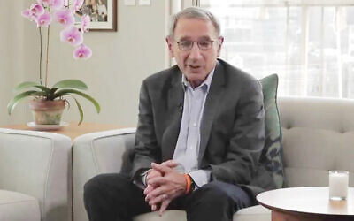 """Rabbi Peter Rubinstein shifted gears after 25 years as the spiritual leader of Central Synagogue in Manhattan to take the helm at the 92Y's Jewish Community and Bronfman Center for Jewish Life. """"I wanted to keep serving the Jewish people,"""" he says.  JEWISH WEEK"""