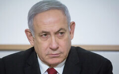 Benjamin Netanyahu, seen on Nov. 12, 2019, is the first sitting Israeli prime minister to be indicted. Miriam Alster/Flash90