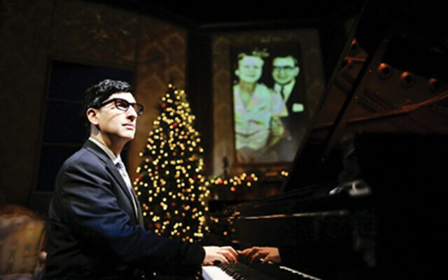Hershey Felder as Irving Berlin in a reprise of his 2019 one-man show to be live-streamed, for one show only, on Sunday, May 10 at 8 p.m. The show is in support of 59E59 Theaters.  Hershey Felder Presents