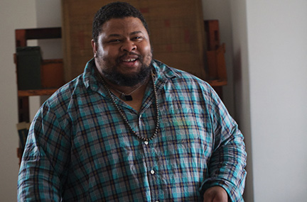 Noted Jewish author Michael Twitty's work explores the fertile intersection of food and identity. He's part of The Great Big Jewish Food Fest, a 10-day online feast. Clay Williams/JTA
