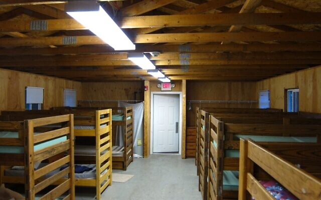 Empty bunks at URJ Kutz Camp in Warwick, N.Y. (themikebot/Flickr Commons)
