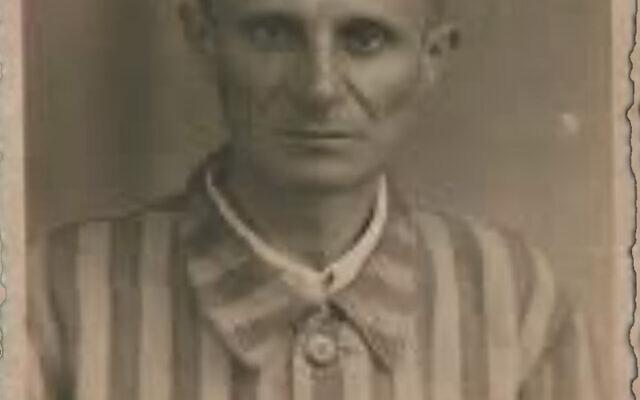 Abraham Bachner in his Auschwitz uniform in 1945. Photos courtesy of Ellen Bachner Greenberg