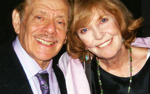 Jerry Stiller and Anne Meara. Photo by Tim Boxer