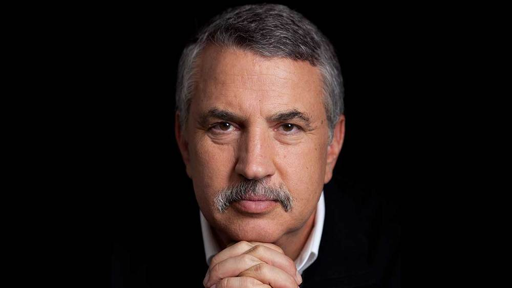 New York Times columnist Thomas Friedman. Via Twitter