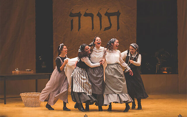 "The National Yiddish Theatre Folksbiene's Yiddish-language version of ""Fiddler on the Roof"" debuted in 2018.  Anat Gerstein Inc."