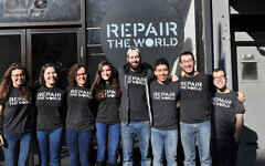 Repair the World fellows in Crown Heights. The social justice group got some of the initial grants from the so-called Jewish super fund. Repair the World/JTA