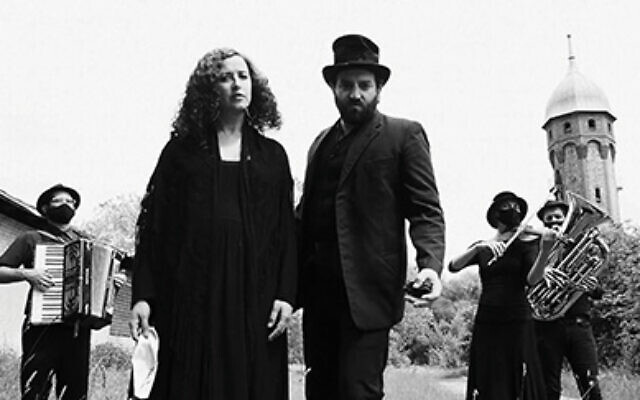 Pandemic blues: Sveta Kundish and Daniel Kahn in a new video updating a 1916 Yiddish ballad about Jews and pandemics. Via YouTube