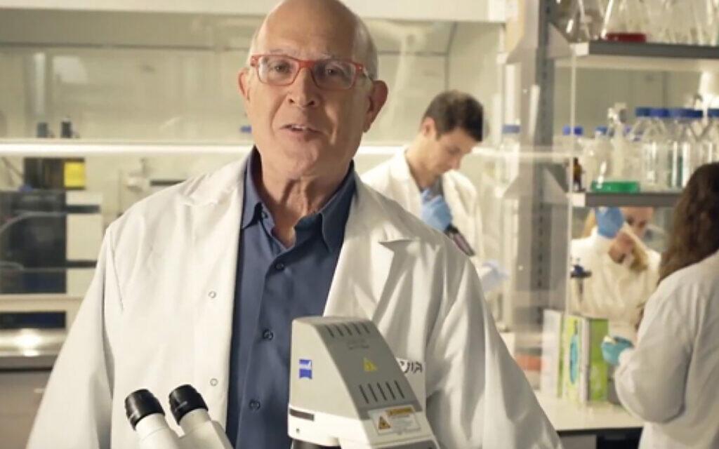 Prof. Jonathan Gershoni.Photo courtesy of Tel Aviv University