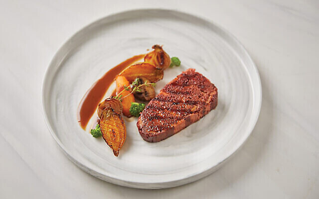 "Redefine Meat has unveiled what it says is ""the world's first"" plant-based steak created using industrial 3D printing."