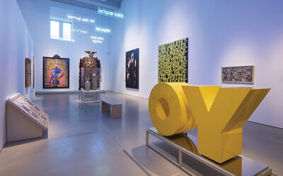 """Installation view of """"Constellations"""" in """"Scenes from the Collection.""""  The Jewish Museum, NY. Photo by: Kris Graves"""
