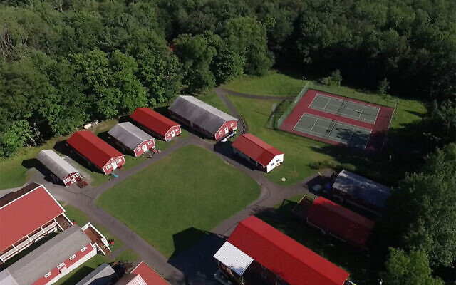 An aerial view of Camp Seneca Lake in Honesdale, Pa. (Camp Seneca Lake)