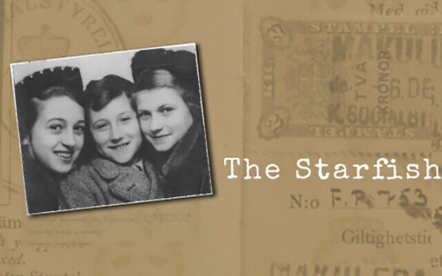 "The Holocaust-themed ""The Starfish"" turns on a true-life escape from Germany made possible by HIAS. The group's CEO joins the filmmaker in a discussion on Sunday, July 12. Via Sousa Mendes Foundation"