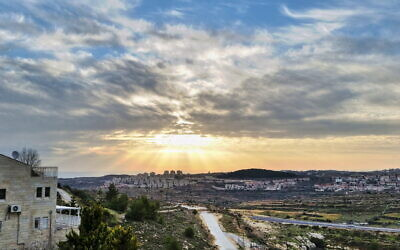 A view of Efrat. (Yair Aronshtam/Flickr Commons)