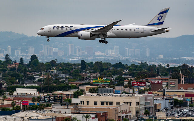 El Al, Israel's national carrier, is struggling to stay afloat amid compounding losses as a result of the coronavirus pandemic. (Glenn Beltz/Flickr Commons)