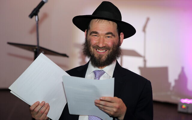 "Rabbi Yehuda ""Yudi"" Dukes, the longtime director of JNet, a worldwide Chabad educational program, has been among the longest hospitalized Covid-19 patients. (Itzik Roitman/Merkos302/Courtesy of JNet)"