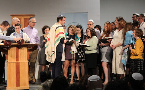 As assistant rabbi at Congregation Beth Elohim in Brooklyn, Rabbi Matt Green is building community around culture and civic engagement, including virtually during the pandemic. (Courtesy Matt Green)