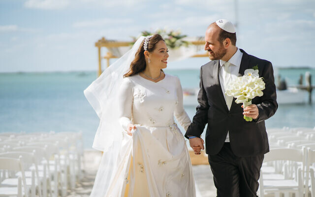 Simcha Nunez and Yudi Hercenberg   were married Sunday, March 1, 2020, 90 days after their first date.