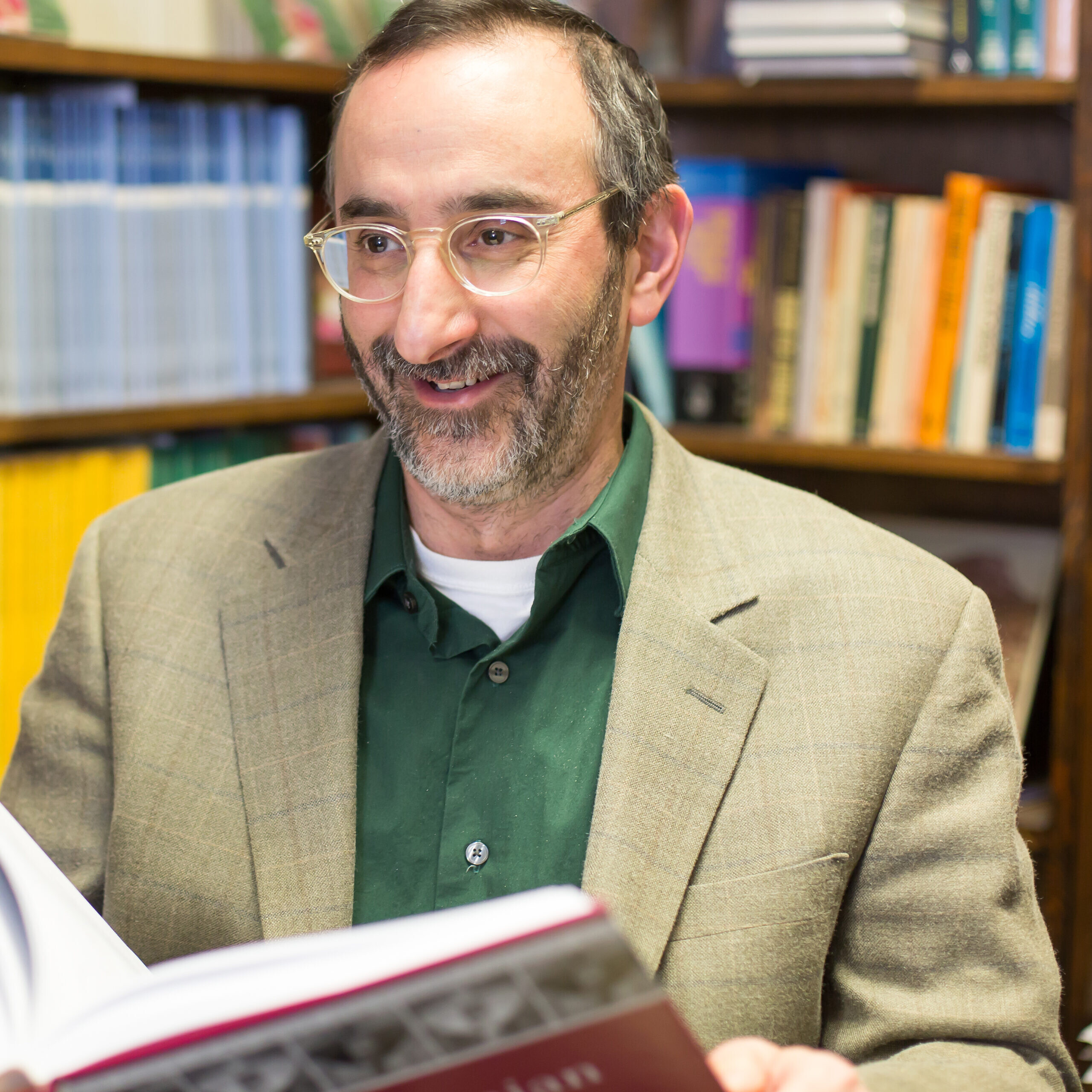 Dr. Benjamin D. Sommer, Professor of Bible and Ancient Semitic Languages, JTS.