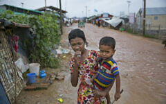 Terrorized in their native Myanmar, nearly 1 million Rohingya refugees crammed into camps like this one outside Cox's Bazar, Bangladesh. (Courtesy UN Women Asia and the Pacific.Flickr Commons)