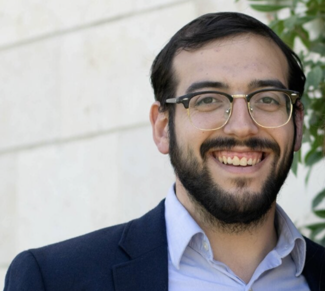Rabbi Leead Staller, the newly appointed Rabbi of The Stanton Street Shul