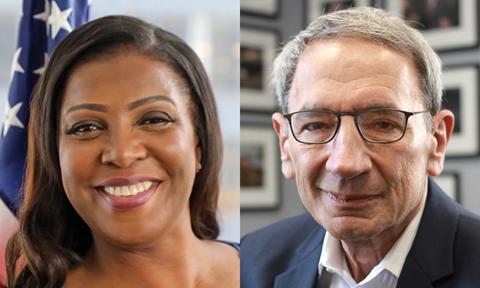 Letitia James, Peter Rubinstein