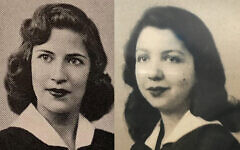 The late Supreme Court Justice Ruth Bader Ginsburg (left) graduated three years after my grandmother, Ruth Dreyfus (right) from James Madison High School in Brooklyn, NY. Both women went on to Harvard Law School and to pursue careers in law. (Courtesy)