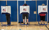 Early voting in presidential elections at Rockaway YMCA in Averne, Queens on Monday, October 26, 2020. (Michael Appleton/Mayoral Photography Office)