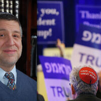 Rabbi Barry Kornblau, unlike what polls say is a majority of his fellow Orthodox Jews, has been vocal about his support for Vice President Joe Biden.