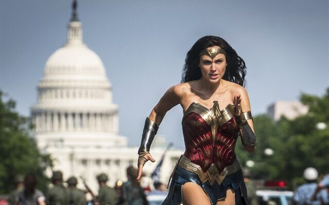 "Gal Gadot stars in ""Wonder Woman 1984,"" which topped the weekend box office. (Clay Enos/Warner Bros.)"
