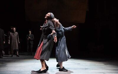 """A scene from the 2019 production of """"Indecent"""" at the Oregon Shakespeare Festival. (Jenny Graham)"""