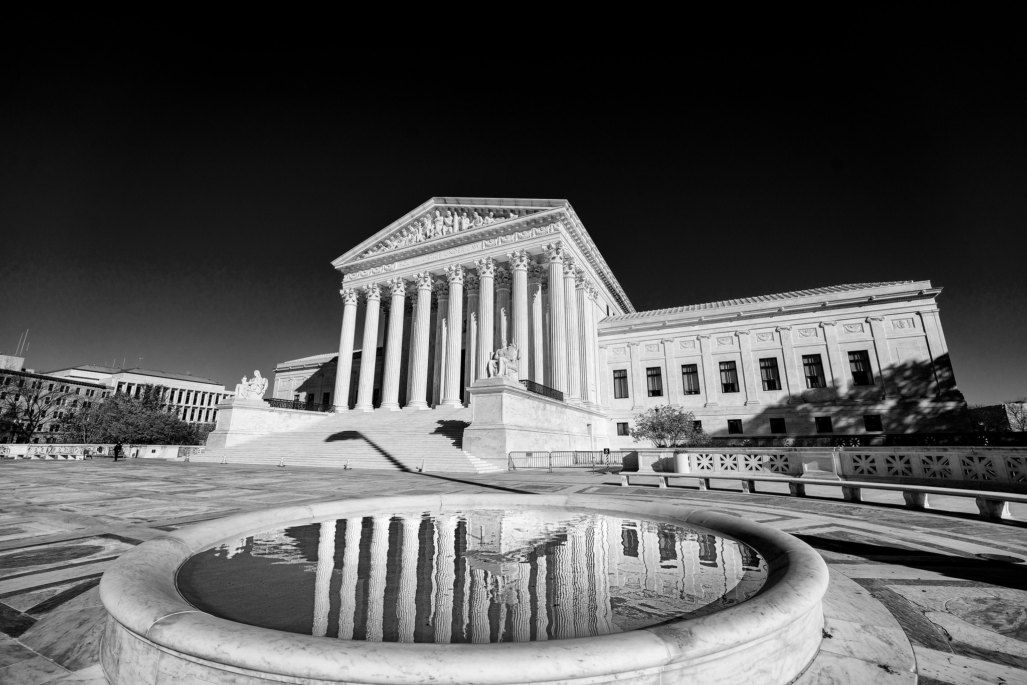 The Supreme Court in Washington, DC., seen on Nov. 20, 2020. (Miki Jourdan/Flickr Commons)