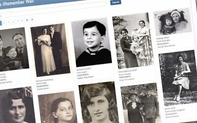 A DAY TO REMEMBER: To mark today's International Holocaust Remembrance Day 2021, Yad Vashem will once again launch the iRemember Wall. Each participant who joins the event will be randomly linked to one of the individuals recorded in Yad Vashem's Central Database of Shoah Victims' Names.