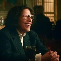 "Fran Lebowitz in a scene from ""Pretend Its a City,"" on Netflix. (Netflix)"