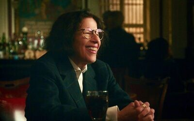 """Fran Lebowitz in a scene from """"Pretend Its a City,"""" on Netflix. (Netflix)"""