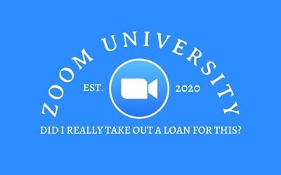 A logo for the Zoom University Facebook page created in April 2020.  (Courtesy of Zoom University Facebook)