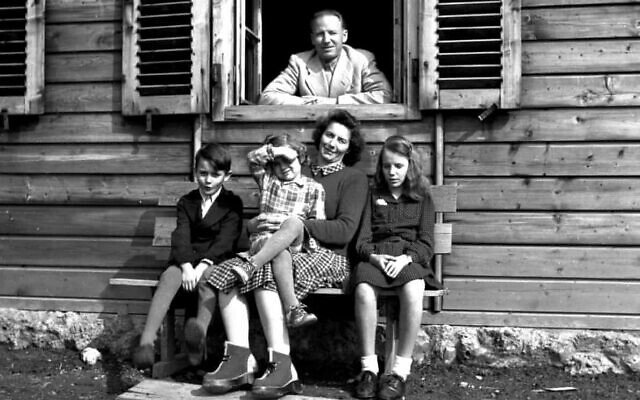 "Otto Wächter, the Nazi governor of Galicia, and his family, 1948. (Horst Wächter, from ""The Ratline"" [Knopf])"