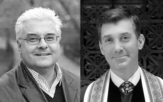 The Reverend Dr. Stephen P. Bauman is the Senior Minister of Christ Church of New York City. Rabbi Joshua M. Davidson is the Senior Rabbi of Congregation Emanu-El of the City of New York. (Courtesy)