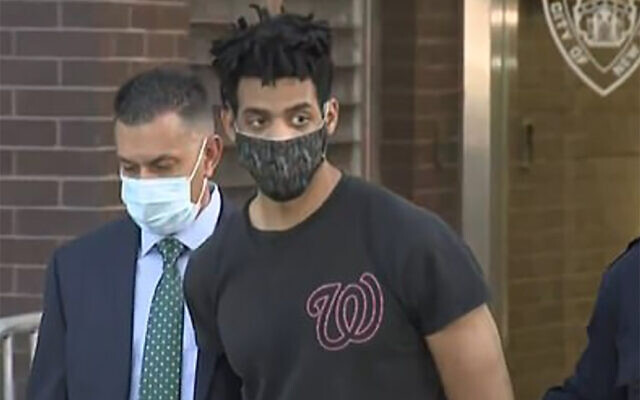Jordan Burnette, a suspect in a series of synagogue attacks in the Riverdale section of the Bronx, is being charged with burglary as a hate crime. (CBS2)