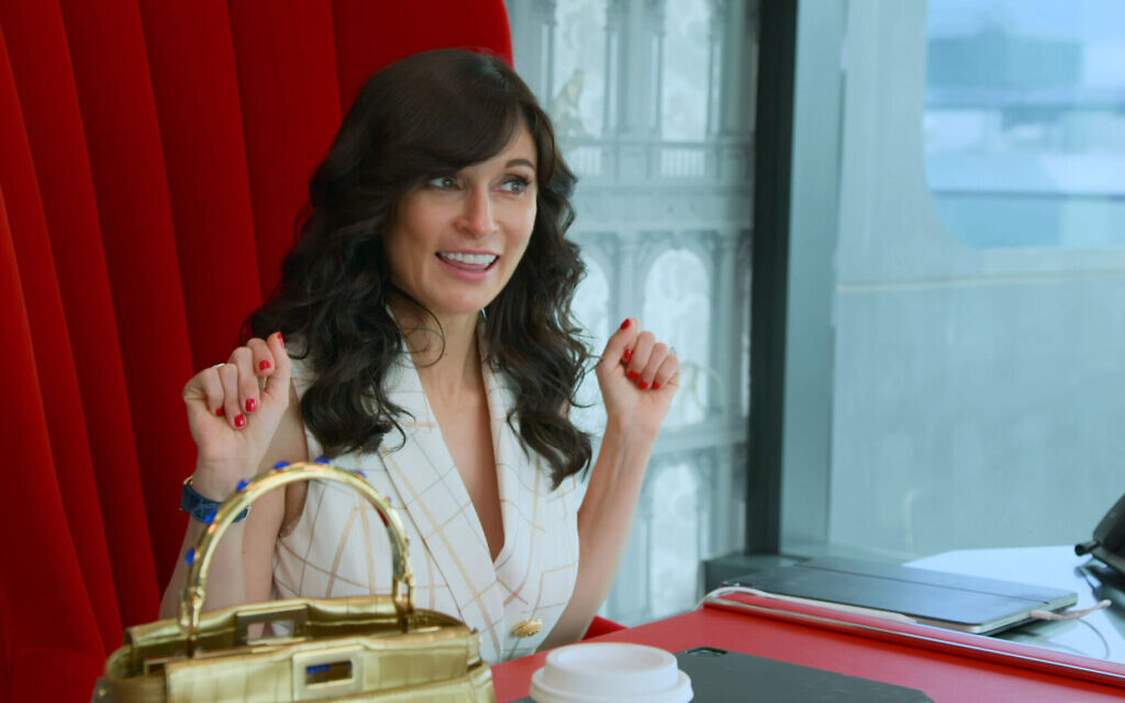 """Julia Haart, the CEO of Elite World Group, stars in the new reality show """"My Unorthodox Life."""" The show documents her life as a fashion mogul after leaving the Orthodox Jewish community. (Courtesy of Netflix)"""