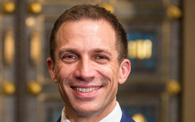 Rabbi Benjamin Spratt is the 11th senior rabbi in the 180-year-plus history of New York's Congregation Rodeph Sholom. (Courtesy CRS)