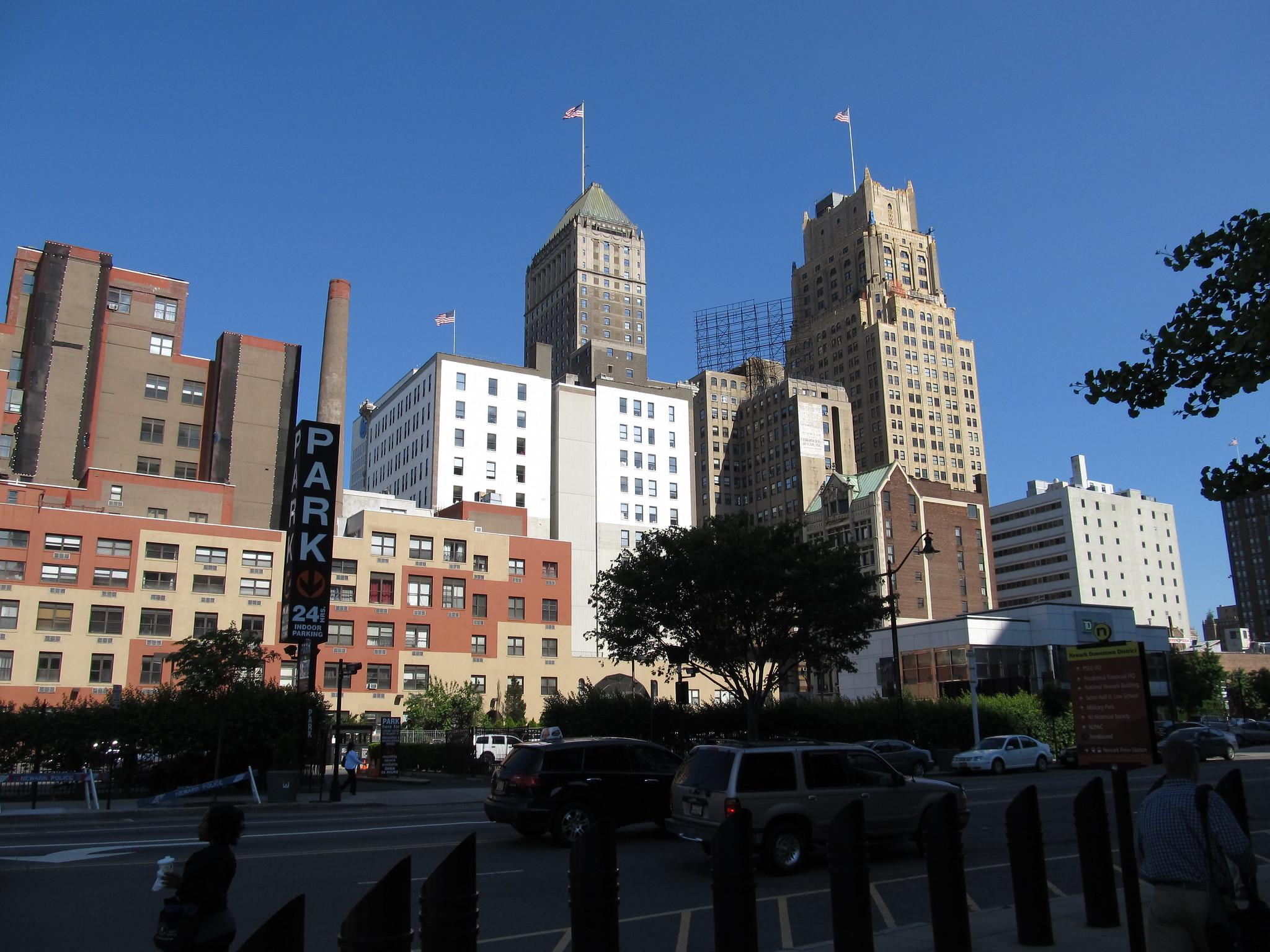 Newark skyline (Flickr Commons)