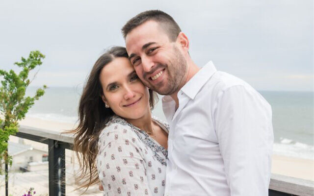Ben Arbov and Loren Ben-Shimon grew together during the pandemic, and plan a 2022 wedding. (Mark Kopko)