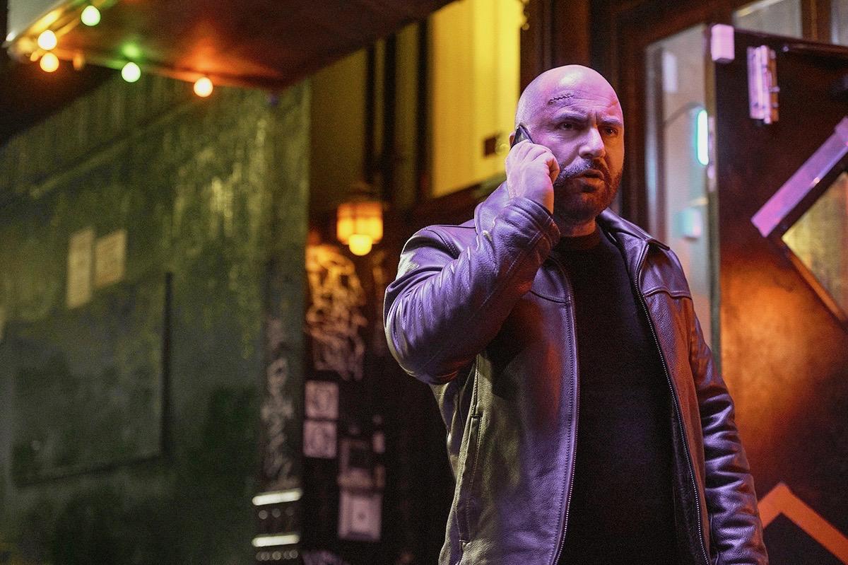 "Lior Raz in a scene from the new Netflix series ""Hit & Run,"" set in Tel Aviv and New York City. (Jojo Whilden/NETFLIX © 2021)"