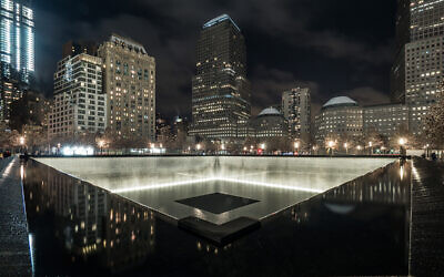 The 9/11 Memorial in Lower Manhattan honors the thousands of lives lost when the Twin Towers were attacked and subsequently fell in 2021.  (Getty Images)