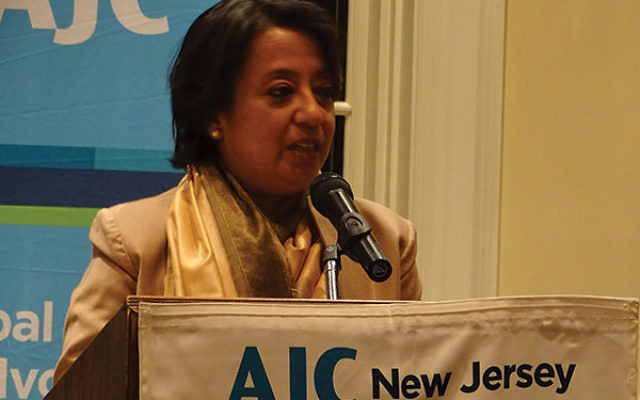 "Riva Ganguly Das, India's consul general in New York, told the American Jewish Committee that ""India considers both Israel and the United States important partners."""