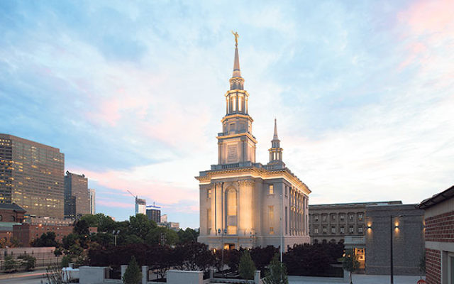 The Philadelphia Temple, which will be officially dedicated on Sept. 18.