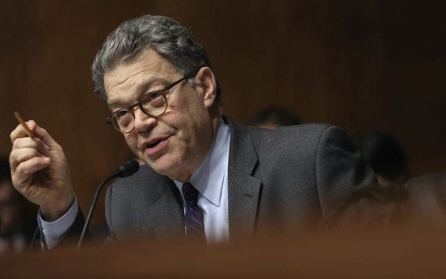 U.S. Sen. Al Franken speaks during a hearing before the Senate Judiciary Committee, Dec. 11, 2013. (Photo by Alex Wong/Getty Images)