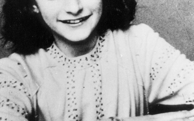 Iconic Holocaust figure Anne Frank is the subject of a special exhibit at the Center for Holocaust, Human Rights and Genocide Education, located on the Lincroft campus of Brookdale Community College. Photo courtesy AFF Basel/AFS Amsterdam